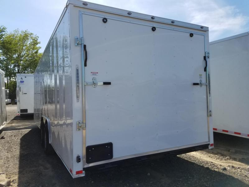 2018 Spartan 8.5x24 5200lb axles Enclosed Cargo Trailer