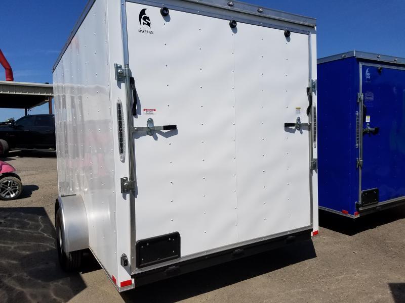 2018 Spartan 7X12SA Enclosed Cargo Trailer