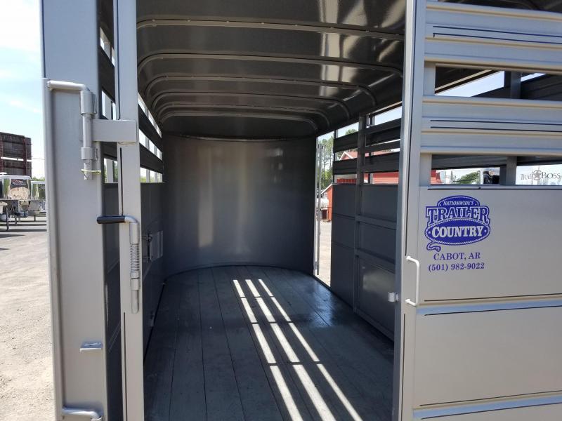 2018 Delta Manufacturing 16ft 500ES BP Livestock Trailer