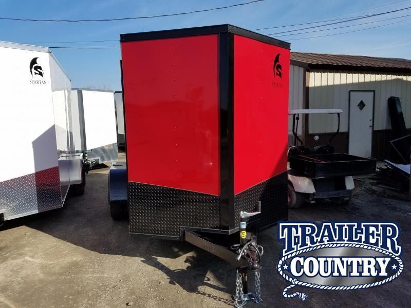 2019 Spartan 6X12 TA Enclosed Cargo Trailer