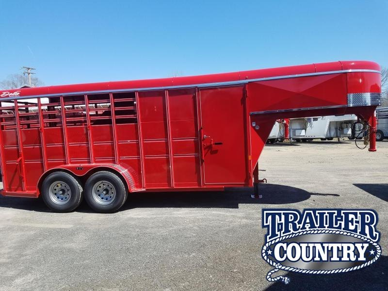 2018 Delta Manufacturing 500 SERIES 3H GN Horse Trailer