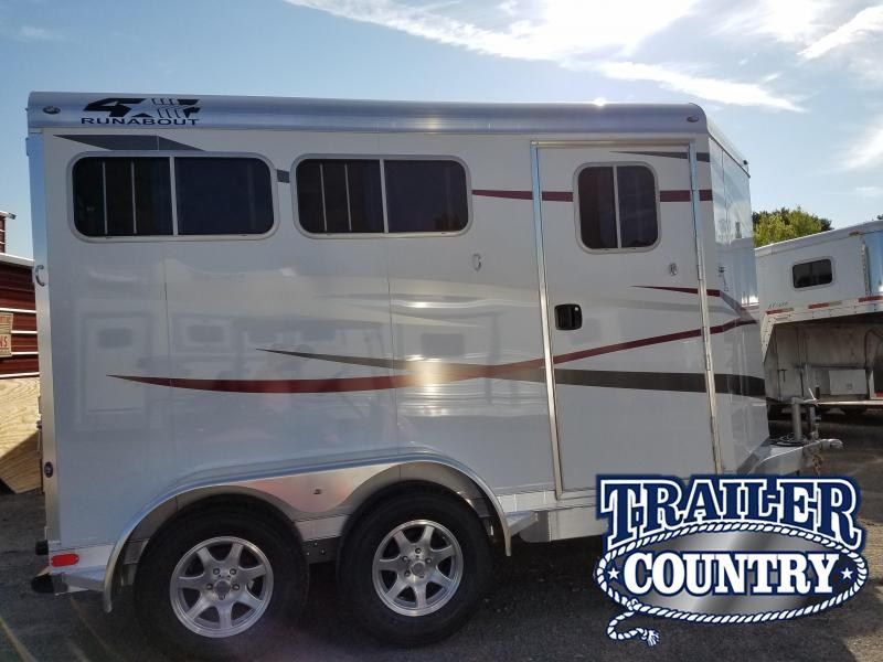 2019 4-Star Trailers 2H BP Horse Trailer