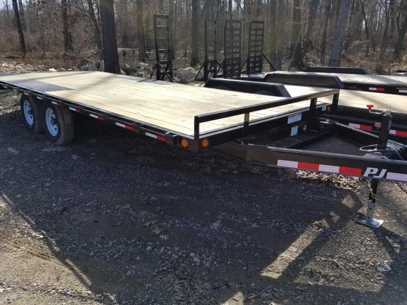 2019 PJ Trailers 102X20 DECKOVER Car / Racing Trailer