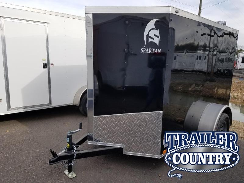 2019 Spartan 5X8 SA Enclosed Cargo Trailer