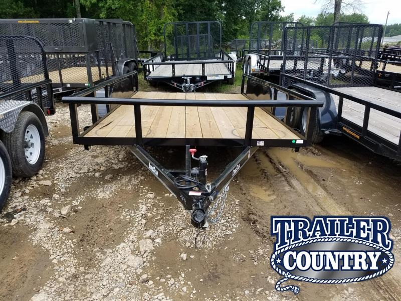 2019 East Texas 83X12 TA Utility Trailer