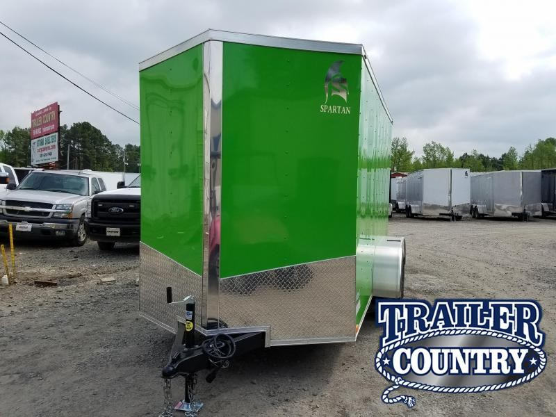 2018 Spartan 6X12TA Enclosed Cargo Trailer