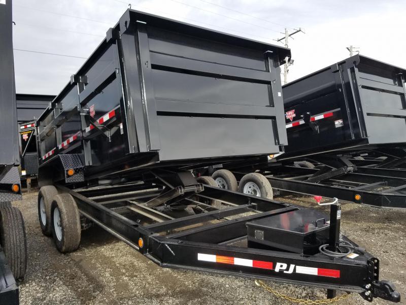 2020 PJ Trailers 83X14 LO PRO HIGH SIDE Dump Trailer