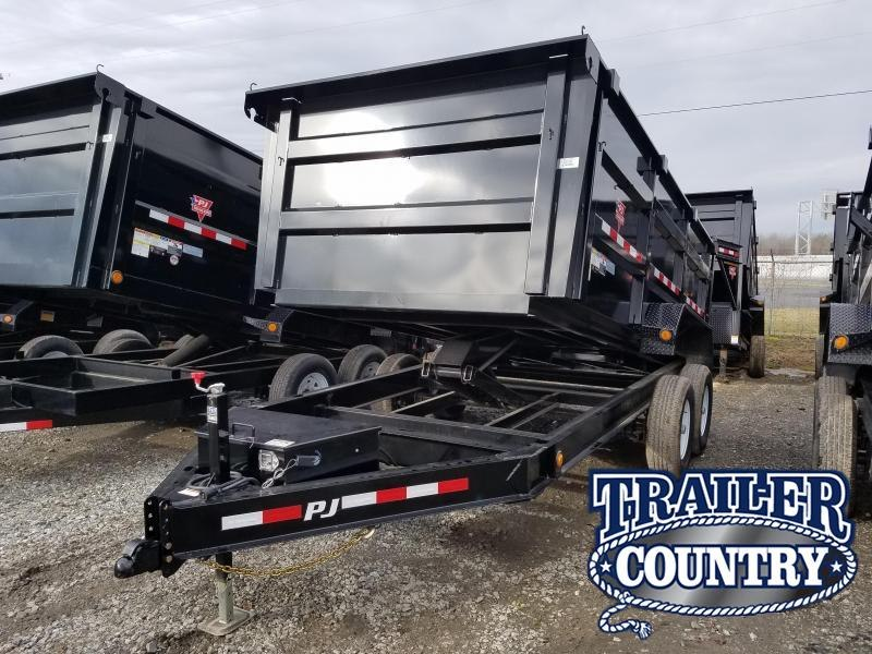 2020 PJ Trailers 83X14 LO PRO HIGH SIDE Dump Trailer