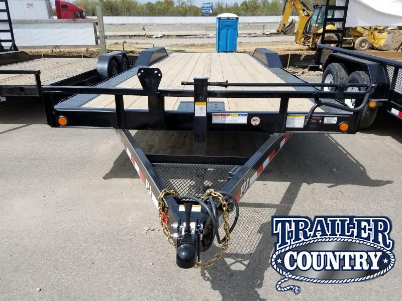 2018 PJ Trailers 102X24 Equipment Trailer in Philipp, MS