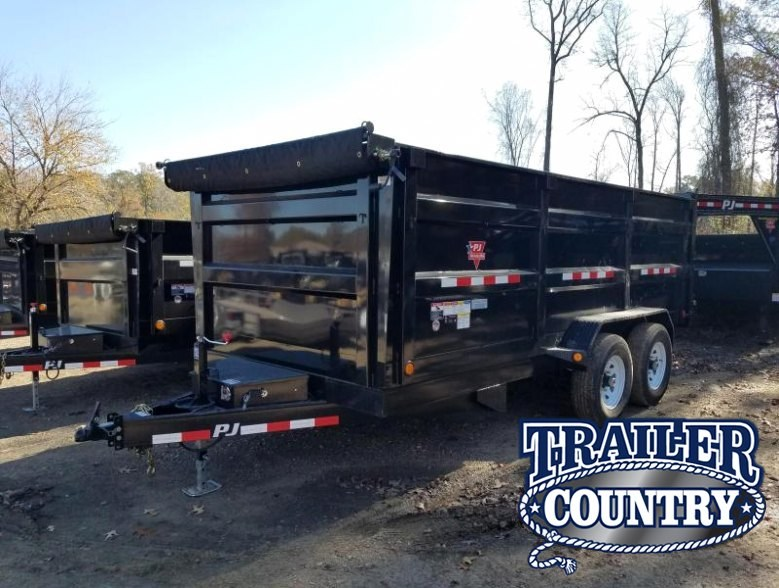2018 PJ Trailers 83x16 PJ Dump High Side Dump Trailer