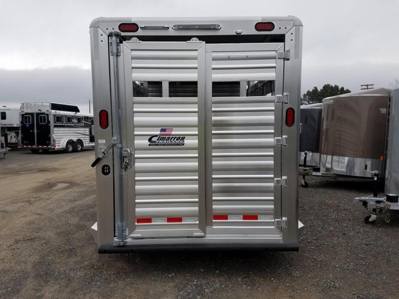 2019 Cimarron Trailers 20FT LONESTAR Livestock Trailer