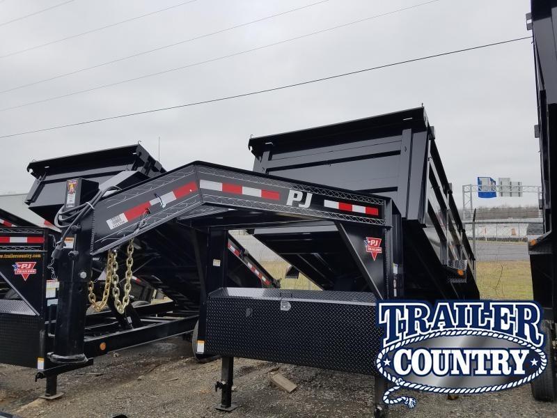 2019 PJ Trailers 83X14 Dump Trailer HIGH SIDES