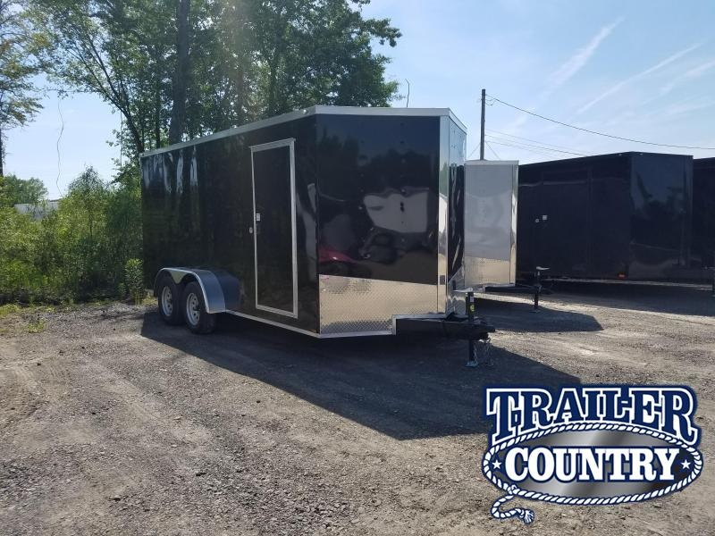 2019 Spartan 7X16 TA Enclosed Cargo Trailer