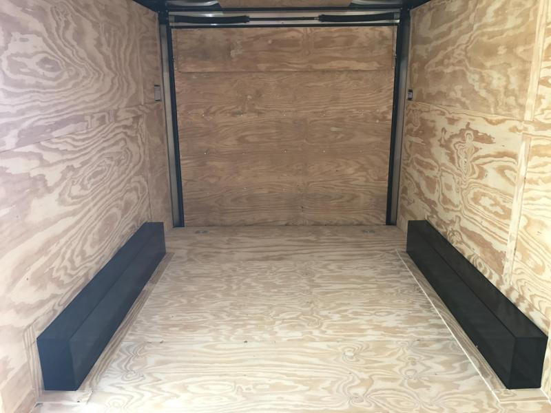 8.5x16 XXL Enclosed Cargo Trailer-7K Axles