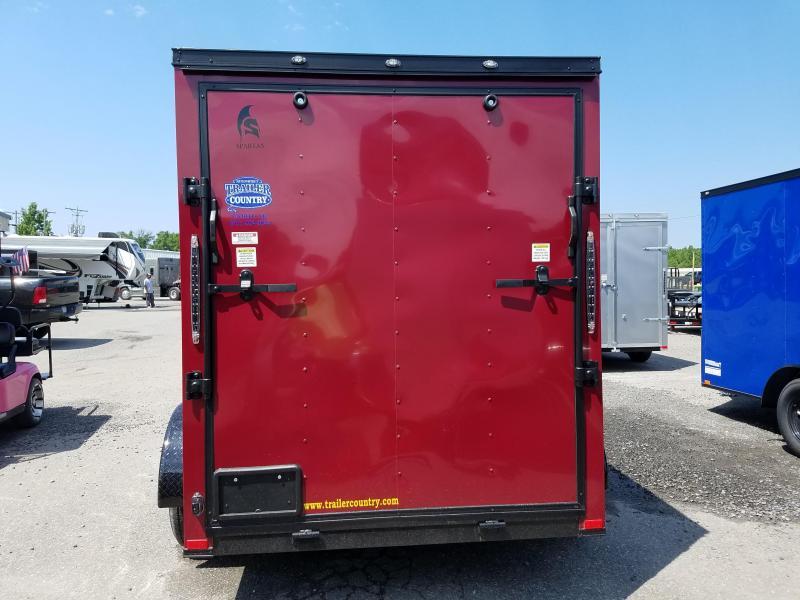2018 Spartan 6X12TA Enclosed Cargo Trailer