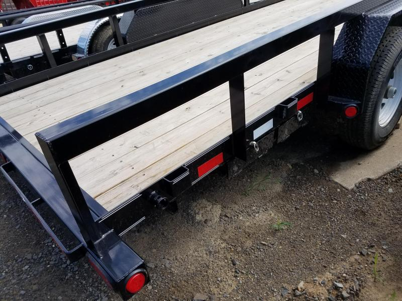 2018 PJ Trailers 83X20 ANGLE PIPETOP Equipment Trailer