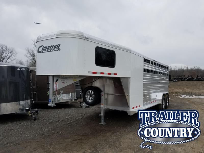 2019 Cimarron Trailers LONESTAR 20FT Livestock Trailer