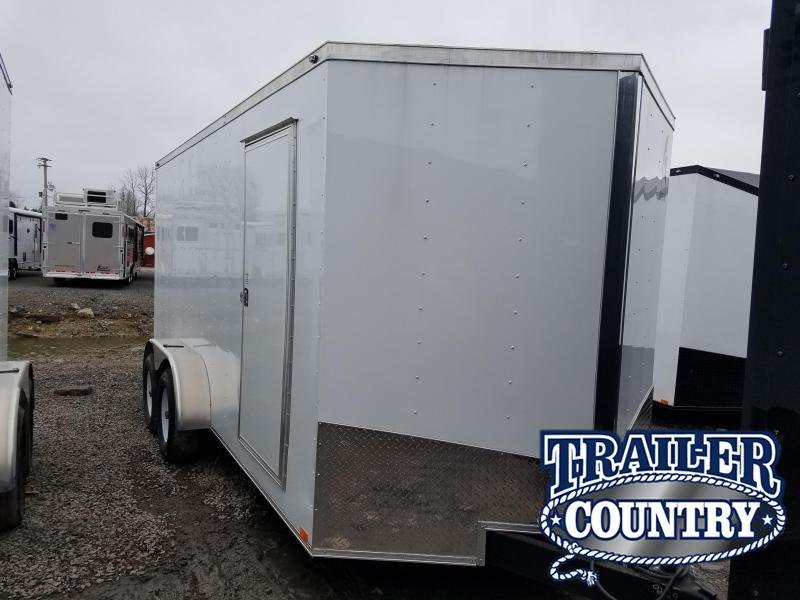 2018 Spartan 7X16 TA Enclosed Cargo Trailer