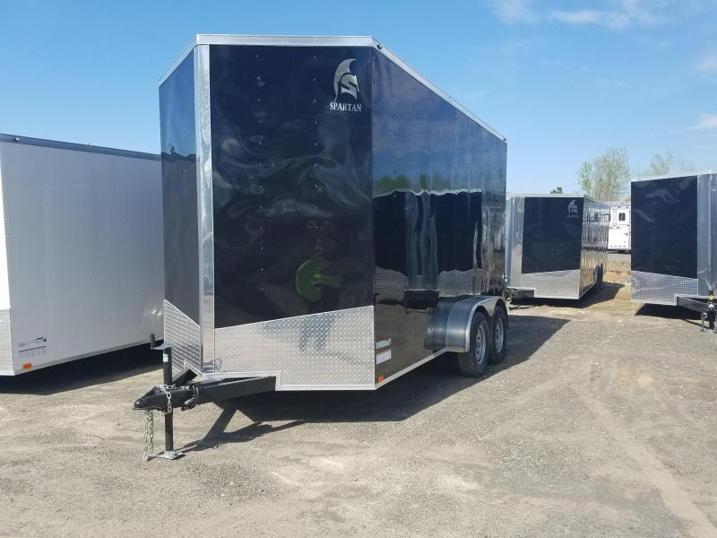 2018 Spartan 7X14 TA Enclosed Cargo Trailer