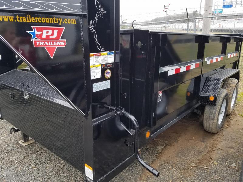2019 PJ Trailers 83X14 LO PRO HIGH SIDES Dump Trailer
