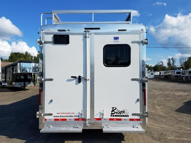 2019 Bison Trailers 8311 RANGER Horse Trailer