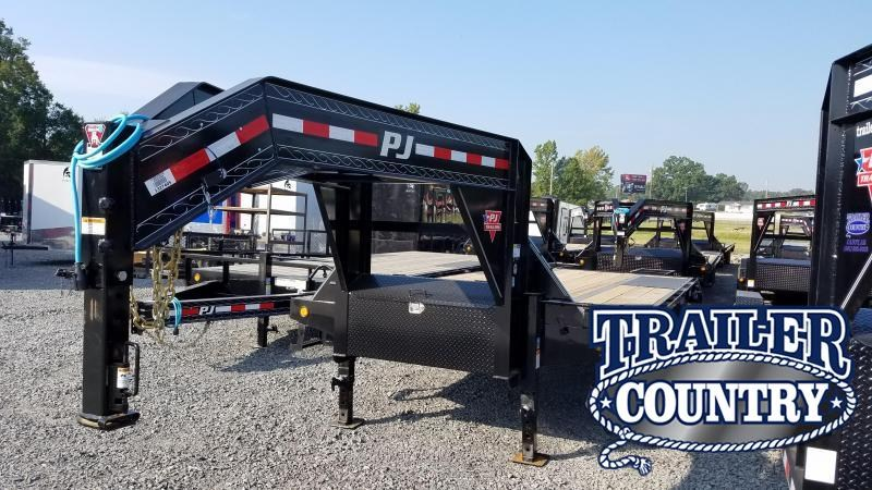 2020 PJ Trailers 25FT LOW PRO Flatbed Trailer