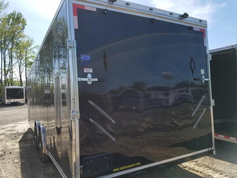2018 Spartan 8.5X28 7K AXLES Car / Racing Trailer