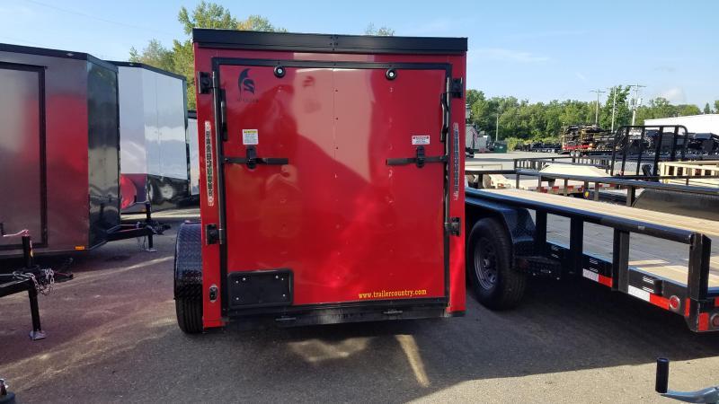 2019 Spartan 5X10 SA Enclosed Cargo Trailer