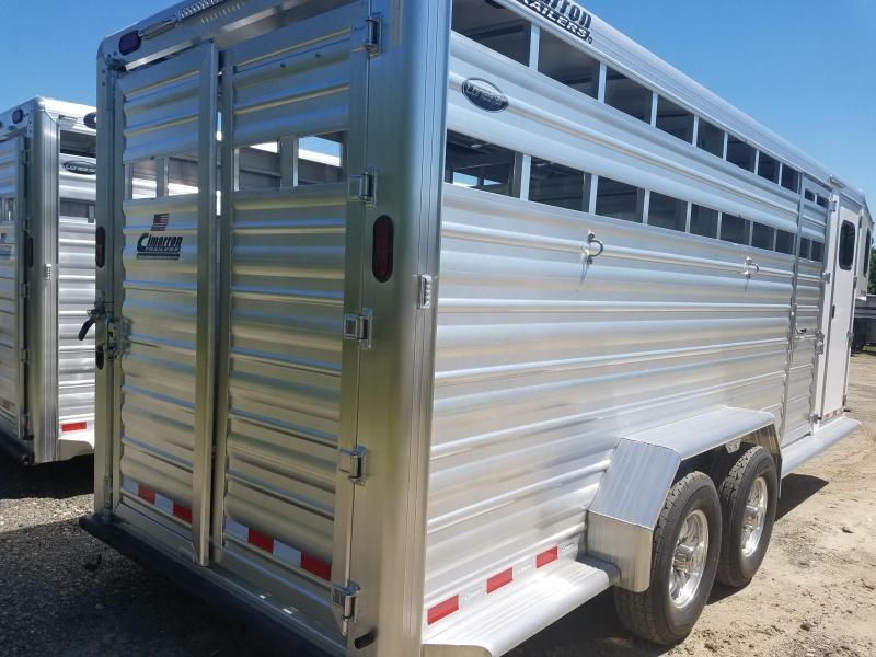 2020 Cimarron Trailers 20FT GOOSENECK Livestock Trailer