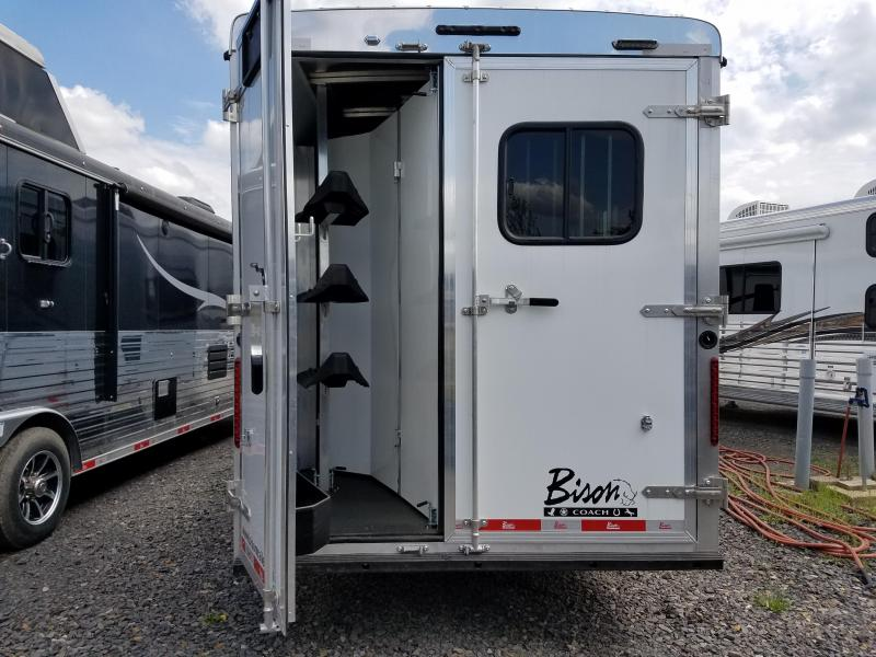 2020 Bison Trailers TRAIL BOSS Horse Trailer