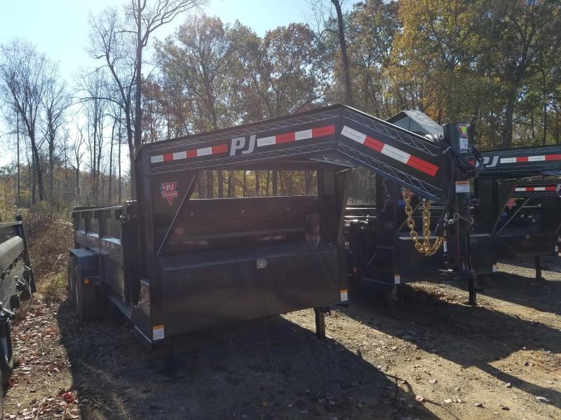 83x16 PJ GN Dump Lo Pro XL High Side-7K-3' Sides