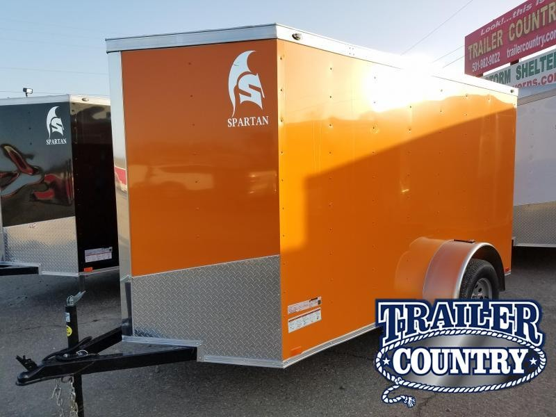 2018 Spartan 5X10 CARGO Enclosed Cargo Trailer