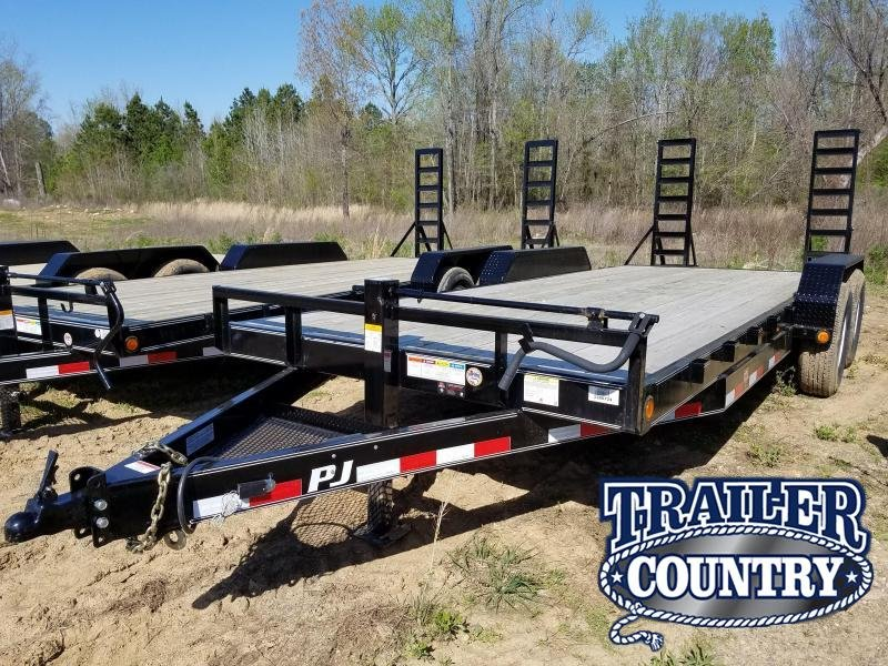 2018 PJ Trailers 83X20 Car Hauler Trailer