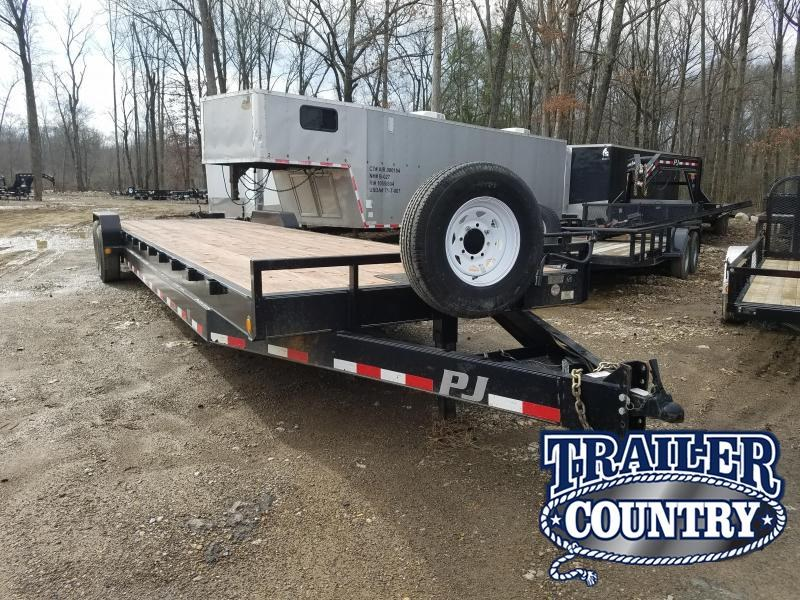 2014 PJ Trailers 34X8 BUMPER PULL Equipment Trailer