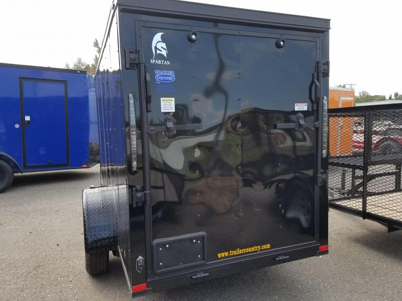 2019 Spartan 5X10SA Enclosed Cargo Trailer