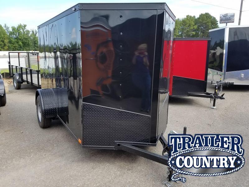 2019 Spartan 5X10SA Enclosed Cargo Trailer