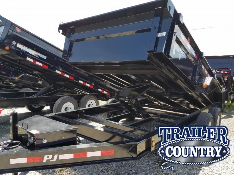 2020 PJ Trailers 83X14 Dump Trailer