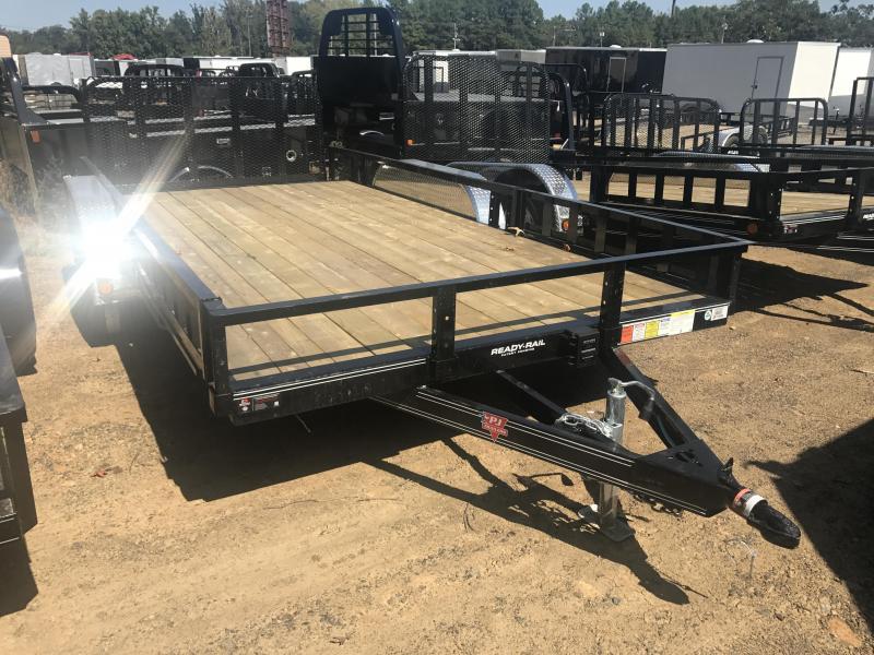 83x16 PJ Utility Trailer-4'HD Rear Gate-Dovetail