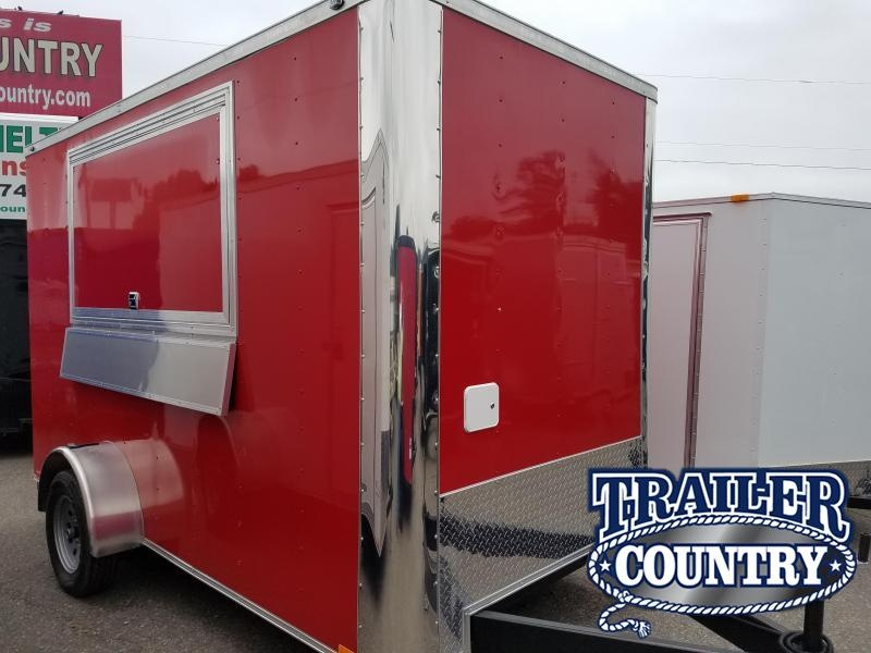 2019 Spartan 6X12SA Vending / Concession Trailer