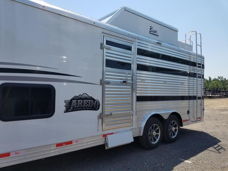 2019 Bison Trailers 8013 LAREDO Livestock Trailer