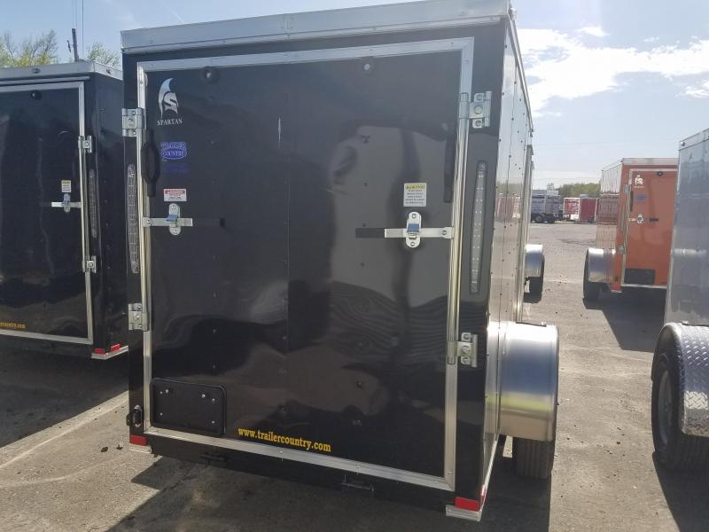 2018 Spartan 5X10 SA Enclosed Cargo Trailer
