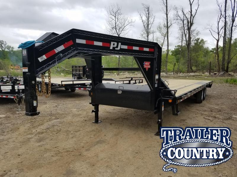 2020 PJ Trailers 28 FT LOW-PRO Flatbed Trailer