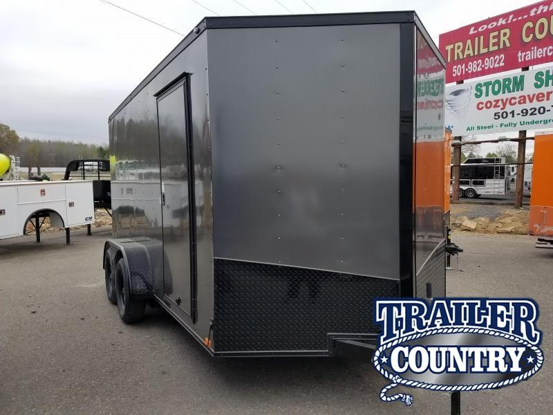 2018 Spartan 7X14 TA CARGO Enclosed Cargo Trailer