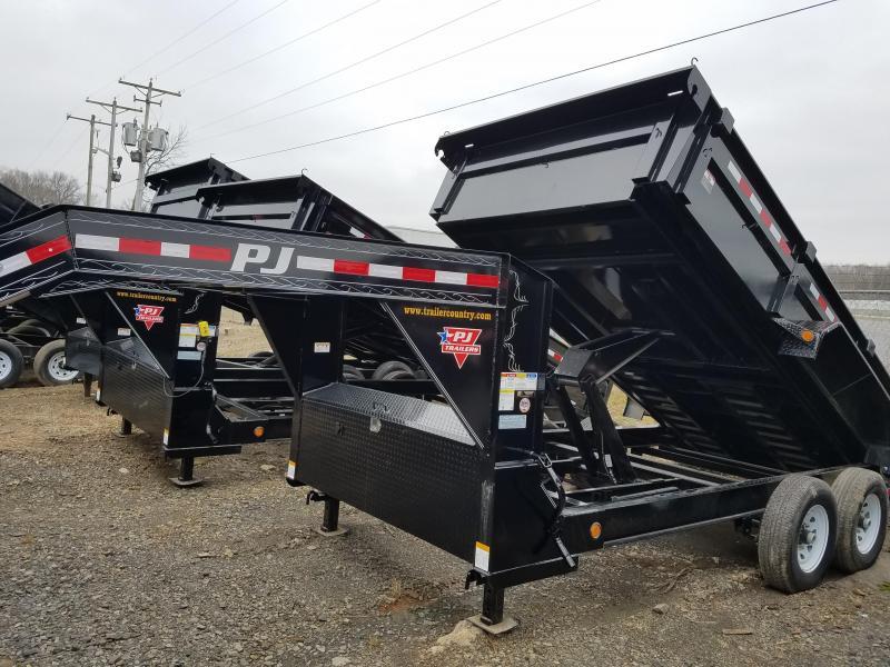 2019 PJ Trailers 83X14 LO PRO Dump Trailer