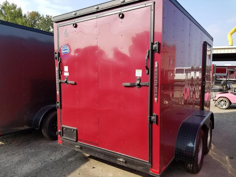 2018 Spartan 6X12 TA Enclosed Cargo Trailer