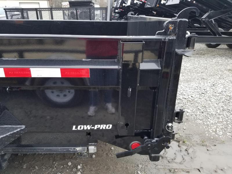 2018 PJ Trailers 83X16 LO PRO GN Dump Trailer