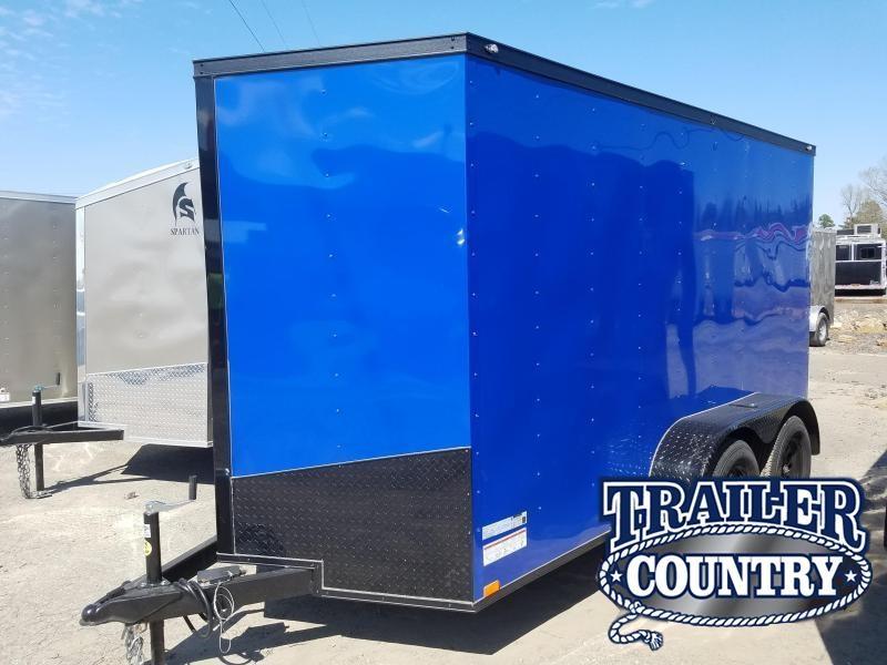 2018 Spartan 6x12 TA Cargo Enclosed Cargo Trailer