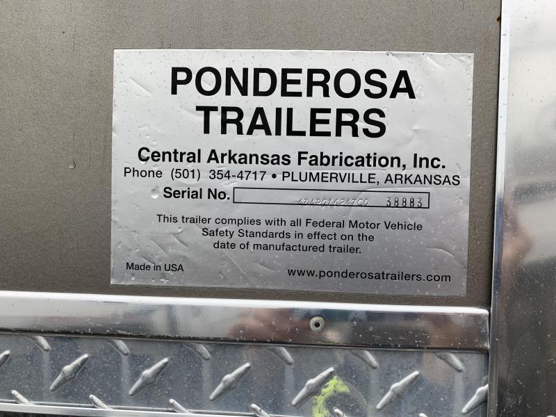 2007 Ponderosa Trailers 16FT STOCK Livestock Trailer