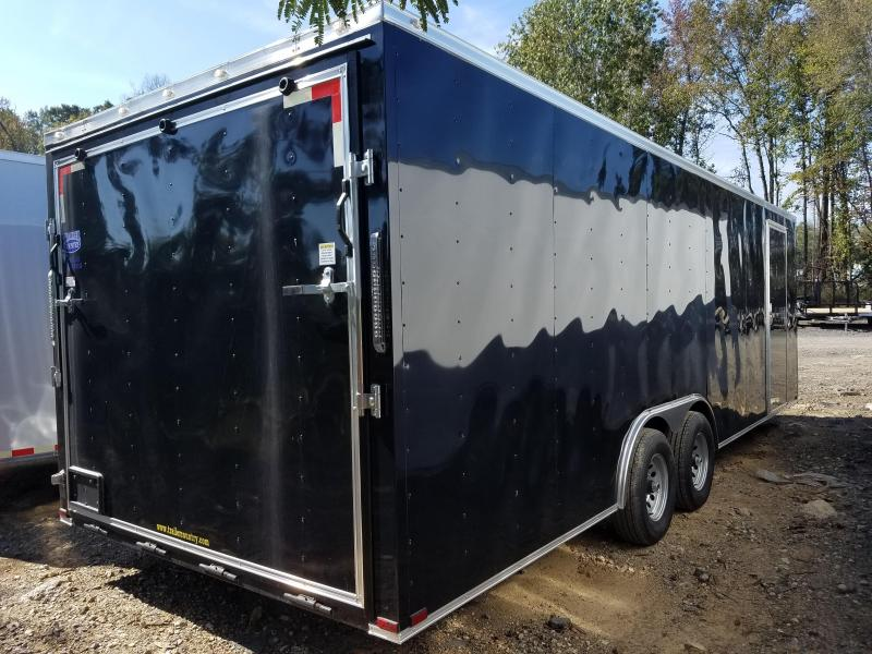 ***CLEARANCE***8.5x24 Enclosed Carhauler Trailer-5200lb Axles-