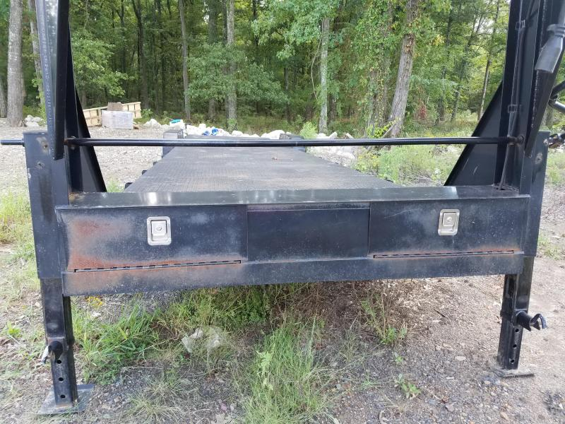 2013 Rice 83X32 Flatbed Trailer